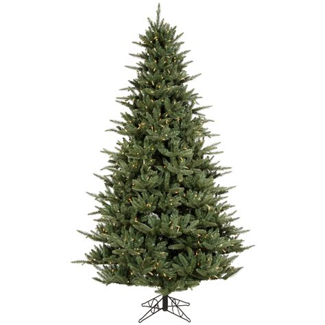 christmas trees w clear lights