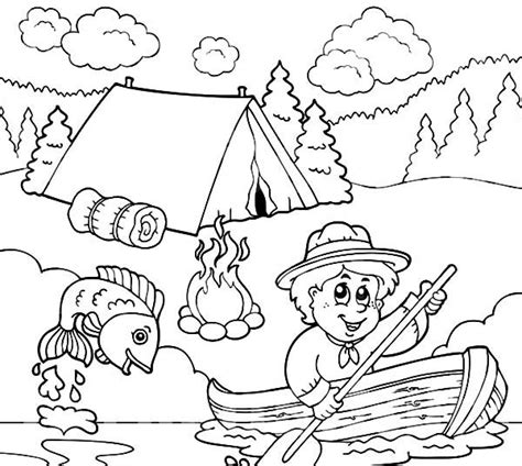 image result  fishing coloring pages punch needle