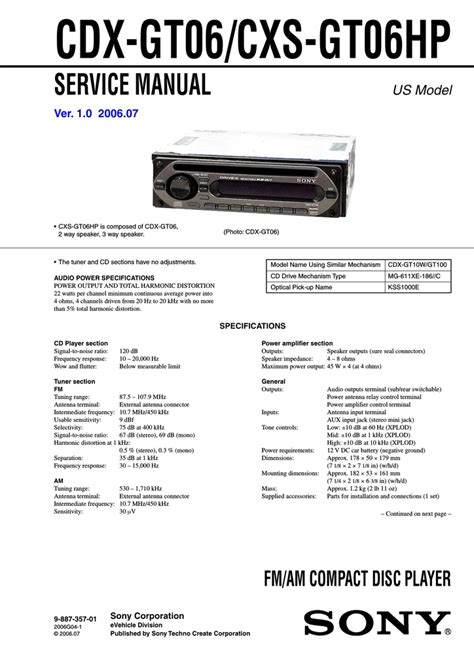 Sony Cdx Gtw Wiring Diagram