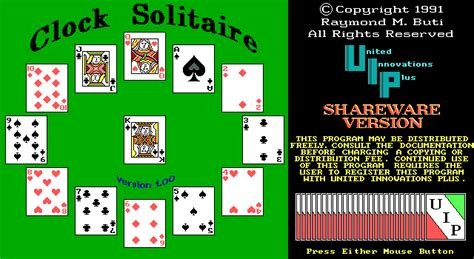 clock solitaire download clock solitaire my abandonware