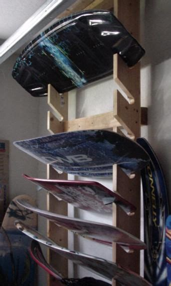 water ski rack   home pinterest water lakes  storage