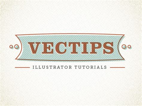 15 illustrator tutorials on retro text effects and vintage lettering