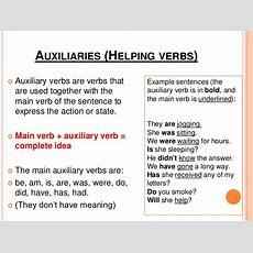 English Verb System