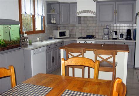 bureau chene gris cuisine salle à manger repeintes photo 3 6 3502106