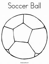 Soccer Ball Coloring Colouring Pages Play Volleyball Print Let Sport Tracing Clipart Noodle Twisty Outline Clip Twistynoodle Ll Player Popular sketch template