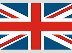 Simple Union Jack Flag Wall Mural