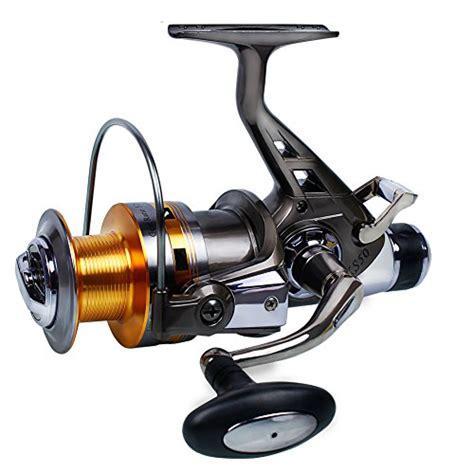 spinning carp fishing reel double drag metal spool bait