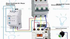 Phase Failure Relay Connection  Installation In Hindi  U0026 Urdu