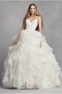 vera wang brautkleider white by vera wang sleeve lace wedding dress david 39 s bridal