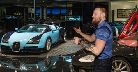 conor mcgregor shows   car collection muscle cars