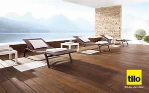 Boden Für Terrasse : terrassen diele terrassem boden von tilo lifestyle und ~ Michelbontemps.com Haus und Dekorationen