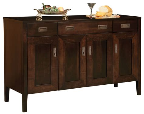 Made Sideboard by Dining Room Sideboards And Buffets Amish Made Oak