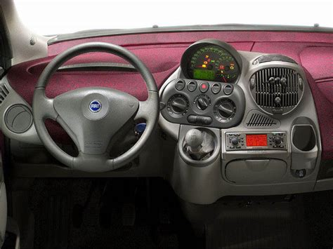fiat multipla picture  car review  top speed