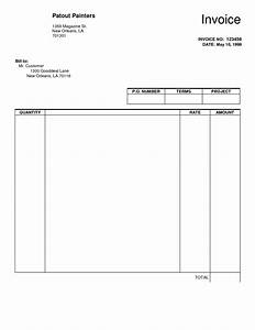 create an invoice to print plus blank invoice template With free invoice forms pdf