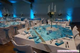 decoration de table mariage bleu et blanc meilleure