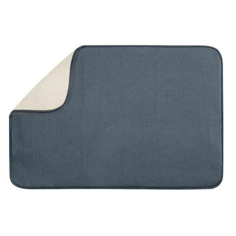 Sink Mat Home Depot interdesign contour sink mat in graphite 59063 the home