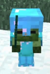 Minecraft Zombie with Diamond Armor