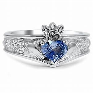 custom ring celtic inspired claddagh ring With celtic inspired wedding rings