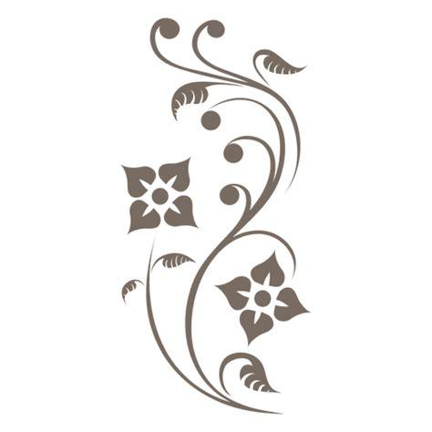 floral ornament corner transparent png svg vector file