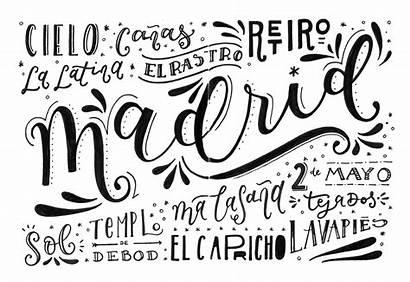 Letras Bonitas Nombre Verano Madrid Ciudad Rodea