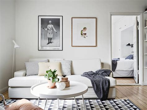 My Scandinavian Home A Very Cool Swedish Space (with A Bike. Black Leather Chaise Lounge. Nice Living Rooms. Beach Theme Bedroom. Glass Pendant Lights For Kitchen
