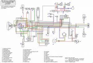 Verkabelung Einer Saprisa Lichtmaschine