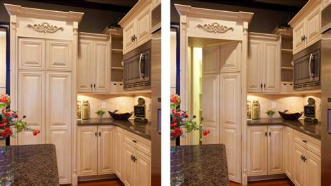 kitchen cabinets that look like furniture pantry doors that look like cabinets pantry doors that