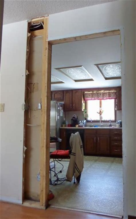Help me decide on this kitchen doorway   DoItYourself.com