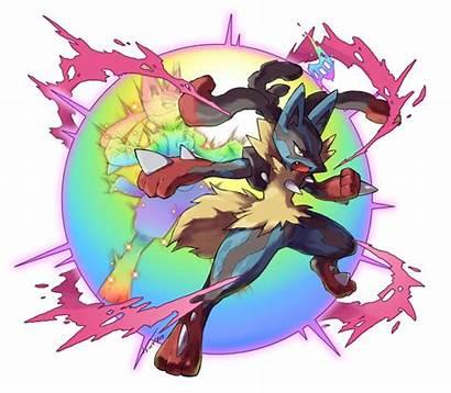 Mega Evolution Lucario Evolve Tomycase Artwork Unofficial