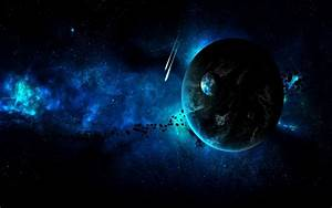 Shooting Stars And Planets wallpaper - 1392263