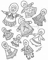 Coloring Pages Native Inuit Eskimo Alaska Hand Inupiaq Drawing Drawn Modern Traditional Drawings Plantation Getdrawings Plimoth Colorful Dress Salmonberry Authentic sketch template