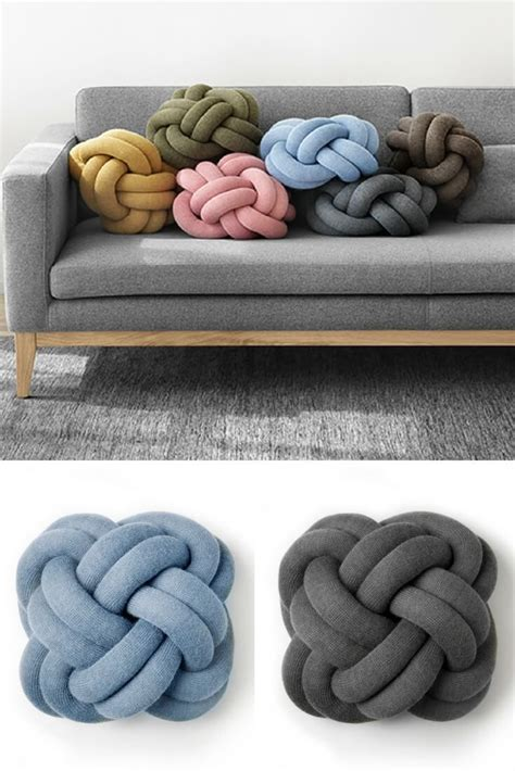 best 25 knot pillow ideas on diy crafts diy knitting ideas and