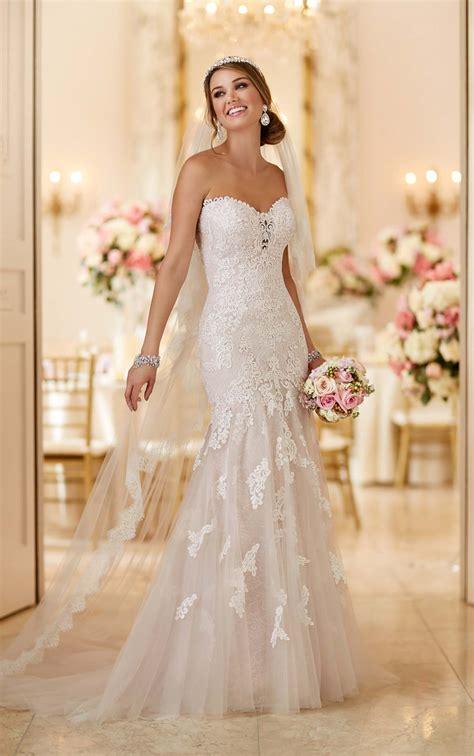Lace Appliques Wedding Dress I Stella York Wedding Dresses