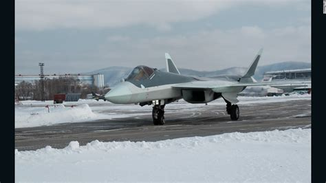New Photos Of Russian T50 Stealth Fighter Cnn