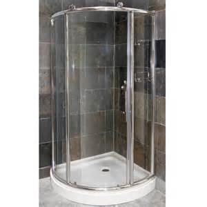 Foremost Sinks by Pier 1 4 Framed Round Corner Shower Door Amp Combo