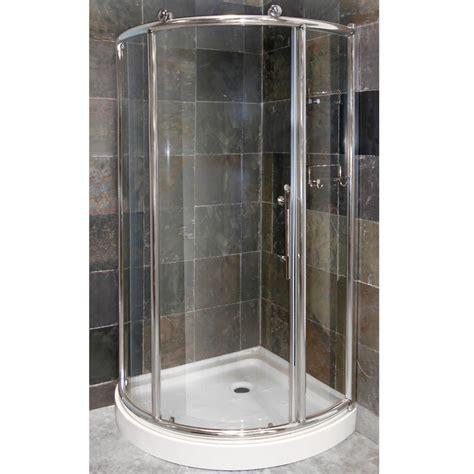 Pier 1/4? Framed Round Corner Shower Door & Combo