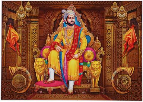 shivaji maharaj unframed wall sticker poster big vinyl