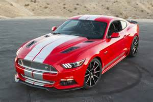 2015 Ford Mustang Shelby GT Red