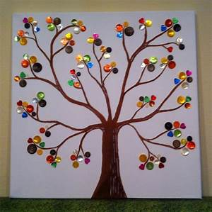 Basteln Mit Knöpfen : button tree baum mit kn pfen yvi 39 s welt yvi bastelt button art button tree und crafts ~ Frokenaadalensverden.com Haus und Dekorationen