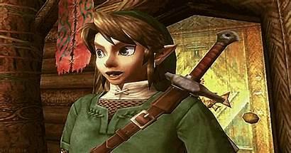 Zelda Link Gifs Legend Face Christmas Reaction