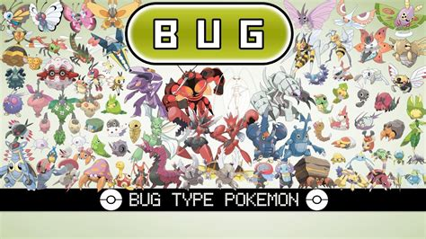 bug type pokemon youtube