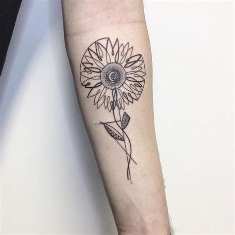 sunflower tattoo meaning   design ideas