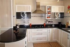 beautiful cuisine moderne les prix contemporary design With deco meuble cuisine