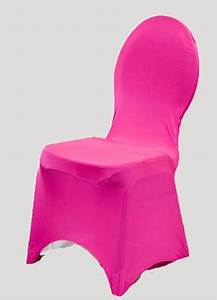 Neon Fuchsia Spandex Chair Cover Ballroom Banquet Chair Covers