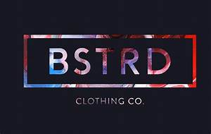 bstrd on behance With clothing brand logo ideas