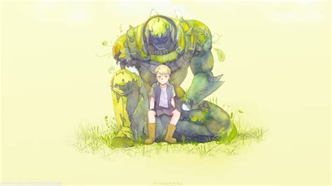 full metal alchemist simple elric alphonse anime