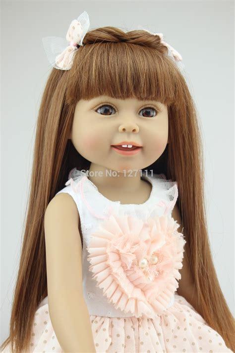 18 inch American girl doll Baby Alive Toys girl birthday