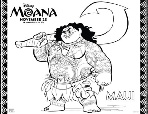 moana coloring pages  printables  fairy tale life