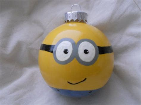 despicable me minion ornament i could diy this clear