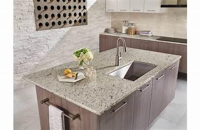 Ornamental Granite Cabinets Stone Counter Cabinet Scene